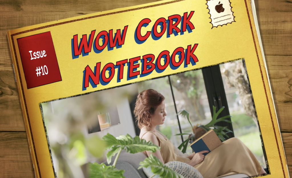 Eco Friendly Printed Note Book Made From Cork